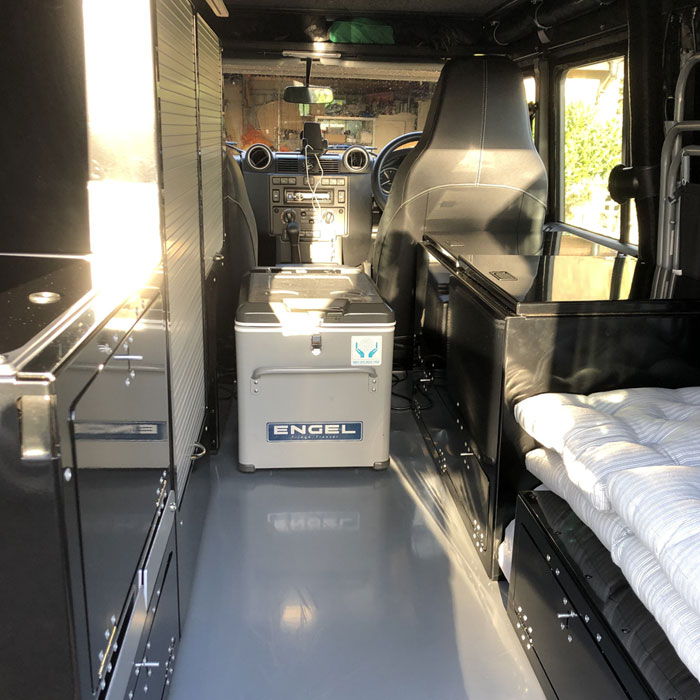 CAMPERVAN CONVERSIONS Extremely spacious, ultra-comfortable design