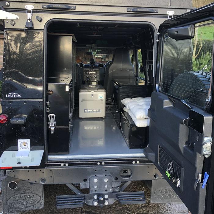 Landrover Campervan And Defender Campervan Allied Conversion
